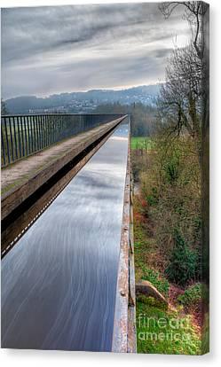 Aqueduct Canvas Print by Adrian Evans