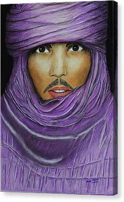 Arab In Traditional Costume Canvas Print by David Hawkes