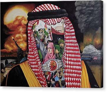 Arab Revolution Canvas Print