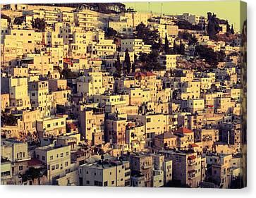 Arab Village Canvas Print by Alexey Stiop