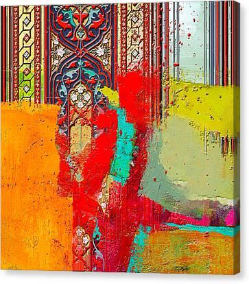Motif One Canvas Print - Arabesque 32 by Shah Nawaz
