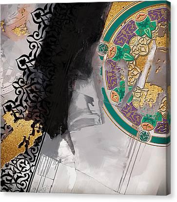 Motif One Canvas Print - Arabesque 3a by Shah Nawaz