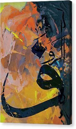 Motif One Canvas Print - Arabesque 8b by Shah Nawaz