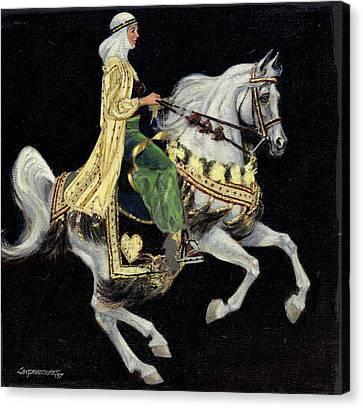 Arabian Costume Horse Canvas Print