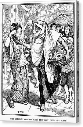 Arabian Nights, 1898 Canvas Print by Granger