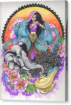 Arabian Nights Canvas Print by Katie Essman