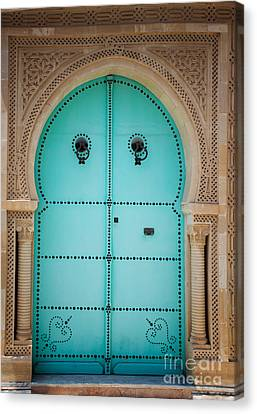 Arabic Door Canvas Print by Mythja  Photography