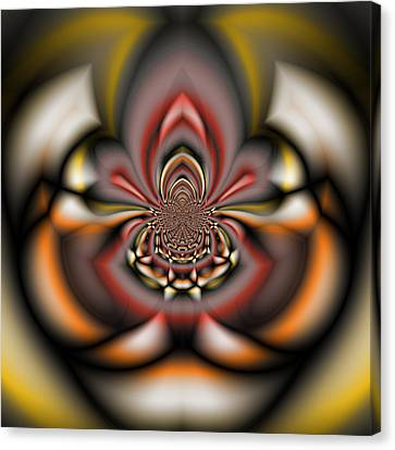 Arachnid - A Fractal Abstract Canvas Print by Gina Lee Manley
