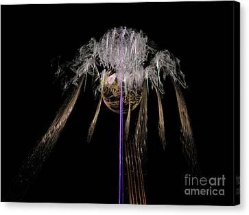 Canvas Print featuring the digital art Arachnophobia #2 by Russell Kightley