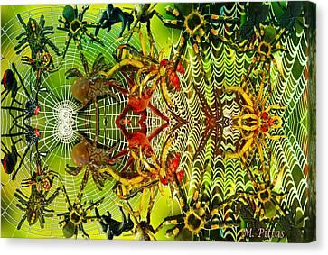 Aracknid Harmony Canvas Print