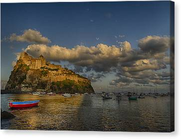 Aragonese Castle Canvas Print