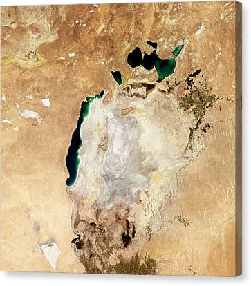 Aral Sea Canvas Print