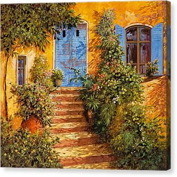 Arancio Caldo Canvas Print by Guido Borelli