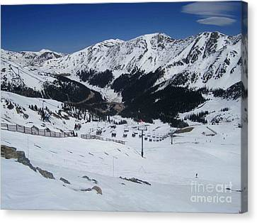 Arapahoe Basin June 2  Canvas Print