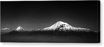 Ararat Mountain Canvas Print by Hayk Shalunts