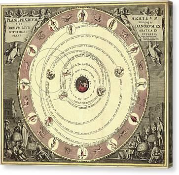 Aratus Planisphere Canvas Print