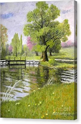 Arboretum 1 Canvas Print