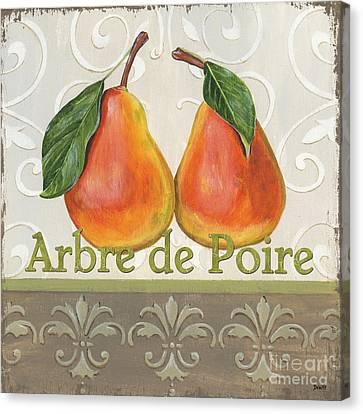 Arbre De Poire Canvas Print by Debbie DeWitt