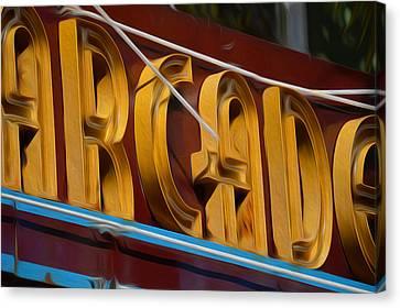 Arcade Canvas Print by Jimi Bush