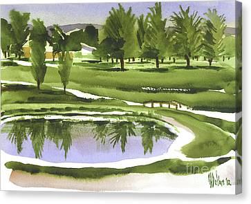 Arcadia Valley Country Club Canvas Print by Kip DeVore