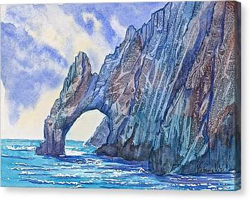 Arch At Cabo Canvas Print