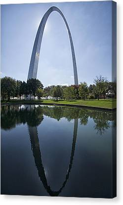Arch Reflection Canvas Print