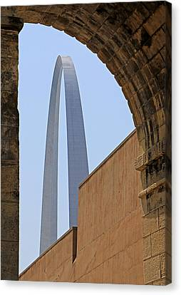 Arch Study 19 Canvas Print by Christopher McKenzie
