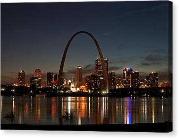 Arch Work Canvas Print