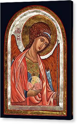 Archangel Michael Canvas Print by Raffaella Lunelli