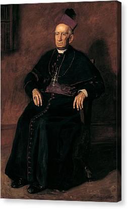 Full-length Portrait Canvas Print - Archbishop William Henry Elder, 1903 Oil On Canvas by Thomas Cowperthwait Eakins