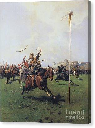 Archery Canvas Print by Pg Reproductions