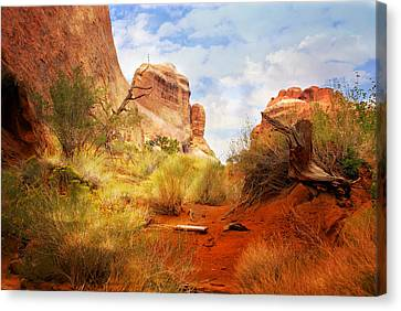Canvas Print - Arches 25 by Marty Koch