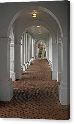 Arches At The Rotunda At University Of Va Canvas Print