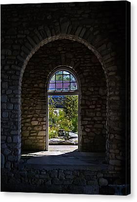 Arches Canvas Print by Chuck De La Rosa