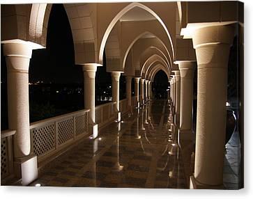 Arches In Abu Dhabi Canvas Print