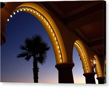 Canvas Print featuring the photograph Arches by Lora Lee Chapman