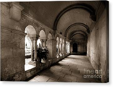 Arches Of An Old Building Canvas Print