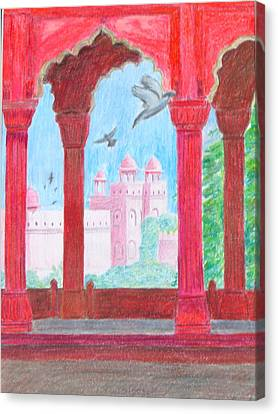 Arches Of India Canvas Print