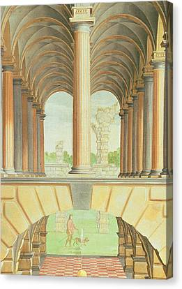 Architectural Capriccio Canvas Print by Jacobus Saeys