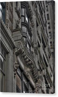 Architectural Detail Canvas Print by David Bearden
