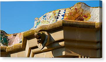 Architectural Detail Of A Building Canvas Print by Panoramic Images