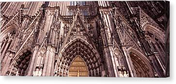 Architectural Detail Of A Cathedral Canvas Print by Panoramic Images