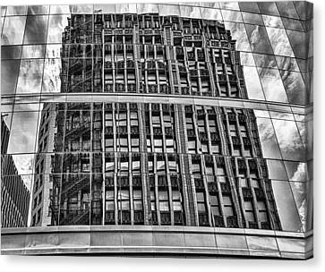 Architectural Reflection 2 Canvas Print by Robert  FERD Frank