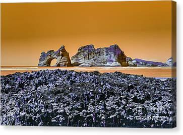 Archway Island Canvas Print