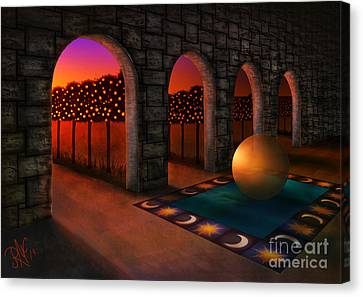 Archway Of Silence Canvas Print