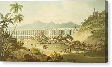 Arcos De Carioco Canvas Print