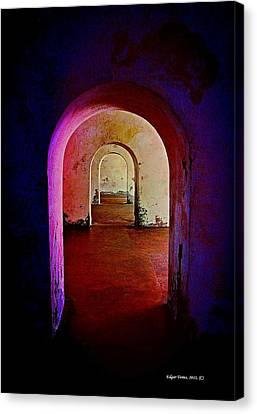 Arcos Canvas Print by Edgar Torres
