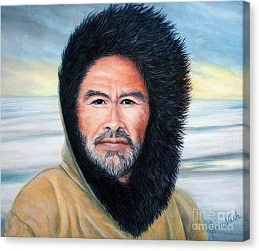 Wind Warrior Canvas Print