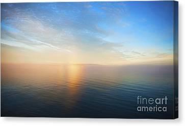 Arctic Colors... Canvas Print by Nina Stavlund