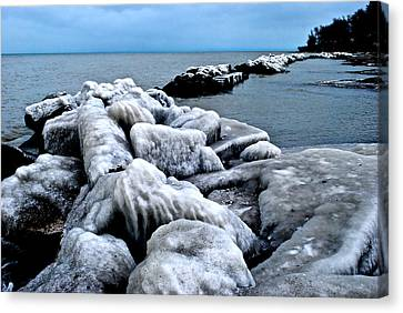 Arctic Waters Canvas Print by Frozen in Time Fine Art Photography